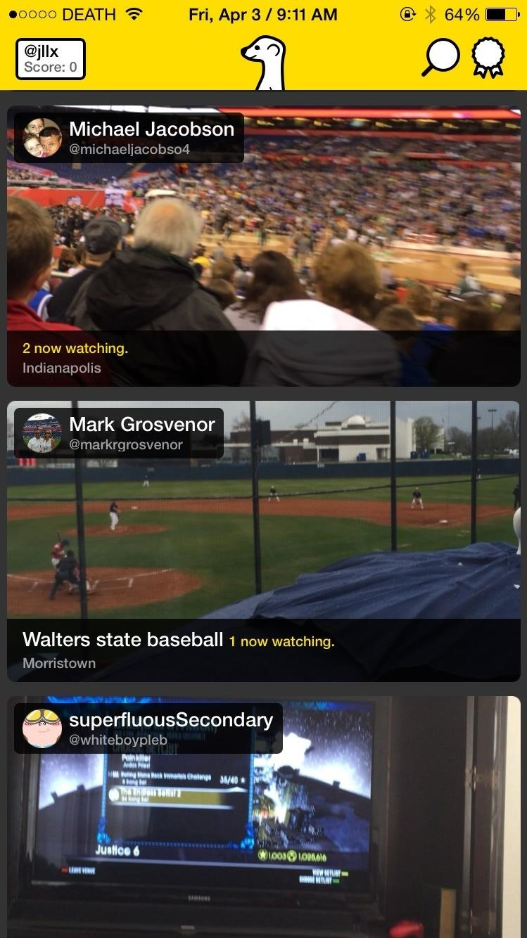 How to Unlock Meerkat's Hidden God Mode to View All Live Streams in Your Timeline
