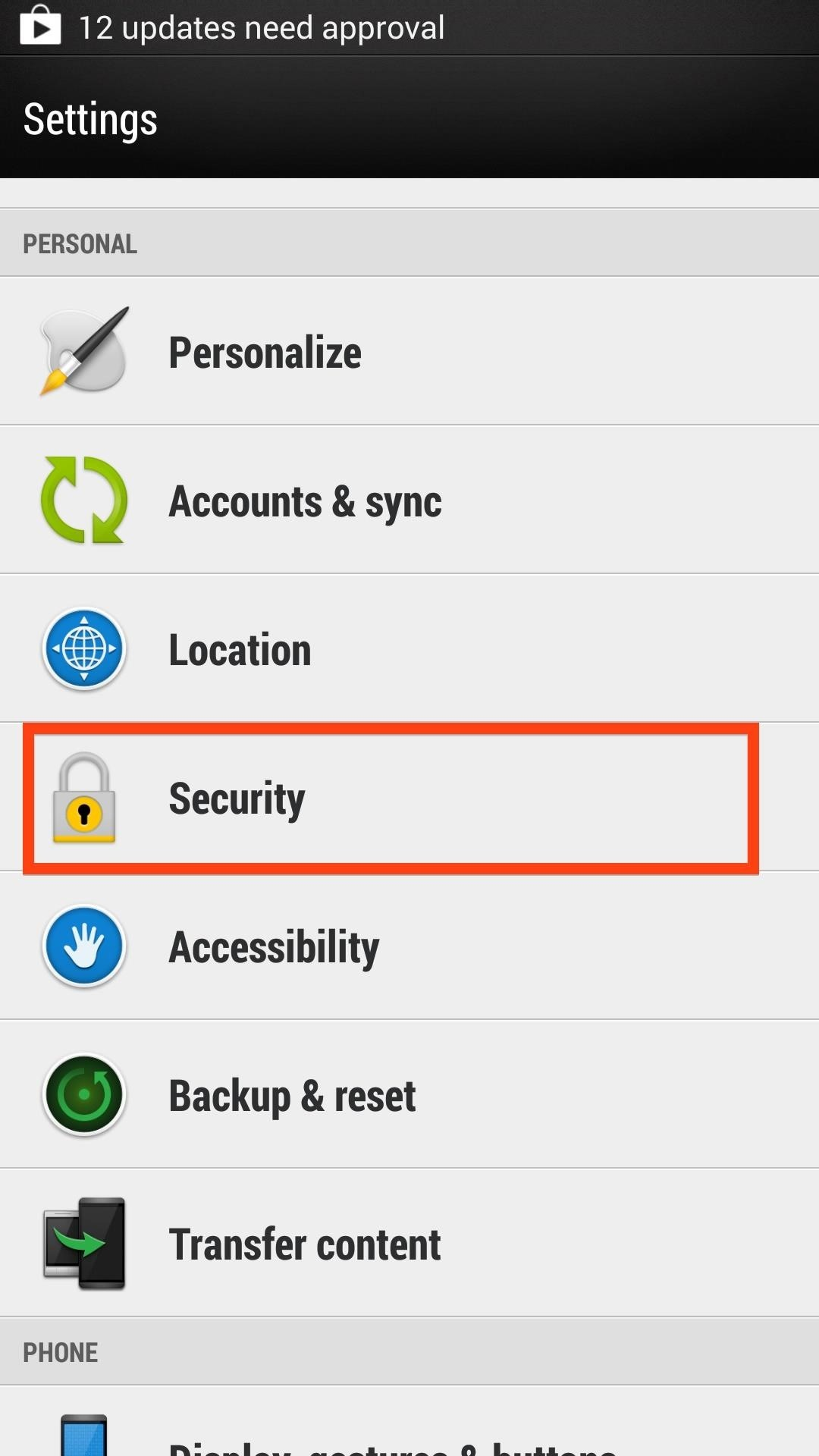 How to Enable Unknown Sources on Your HTC One to Install Apps Not Found on Google Play
