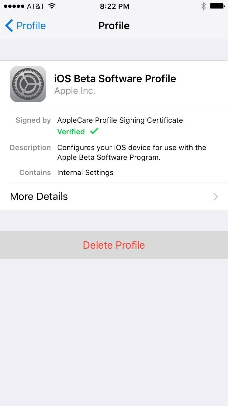how to get ios beta profile