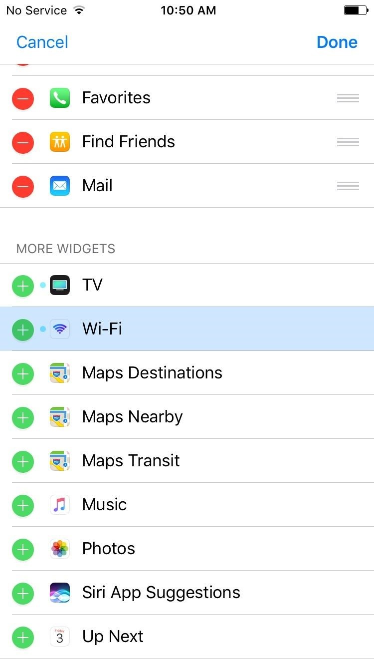 Open Wi-Fi Settings, Share Passwords & More with Wi-Fi Widget for iPhone