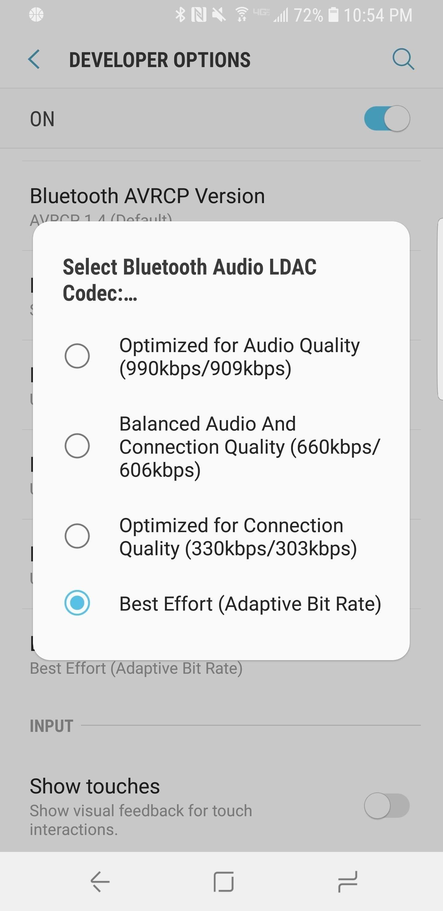 check audio codec