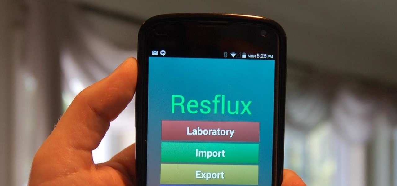 Theme Android Apps Any Way You Want Using Resflux