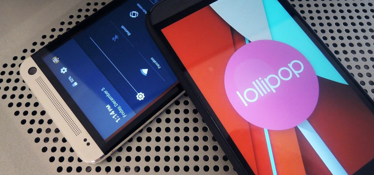 Get Android Lollipop on Your HTC One Right Now