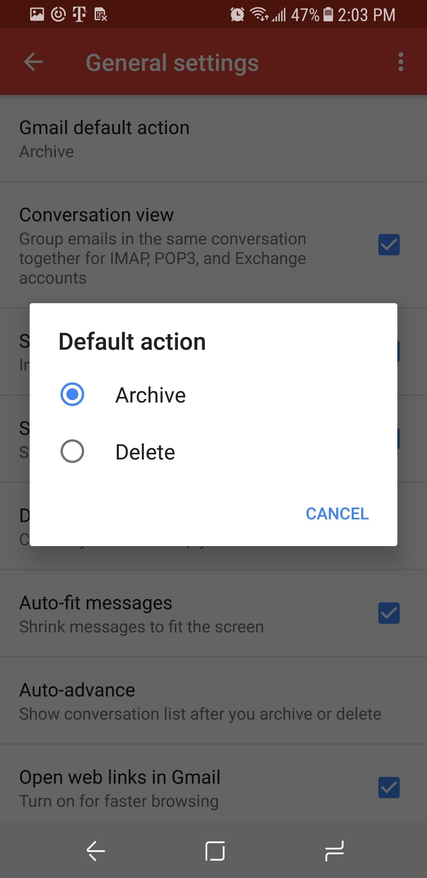 Gmail 101: How to Delete or Archive Emails with One Swipe