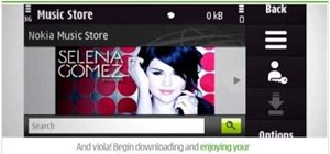 Create a new Nokia account on a Nokia N97 mobile phone