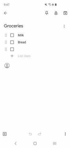 How to Create a Shared Google Keep Checklist for Groceries & Household Chores