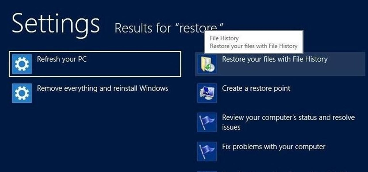 Create a System Image Backup of Your Entire Windows 8 PC