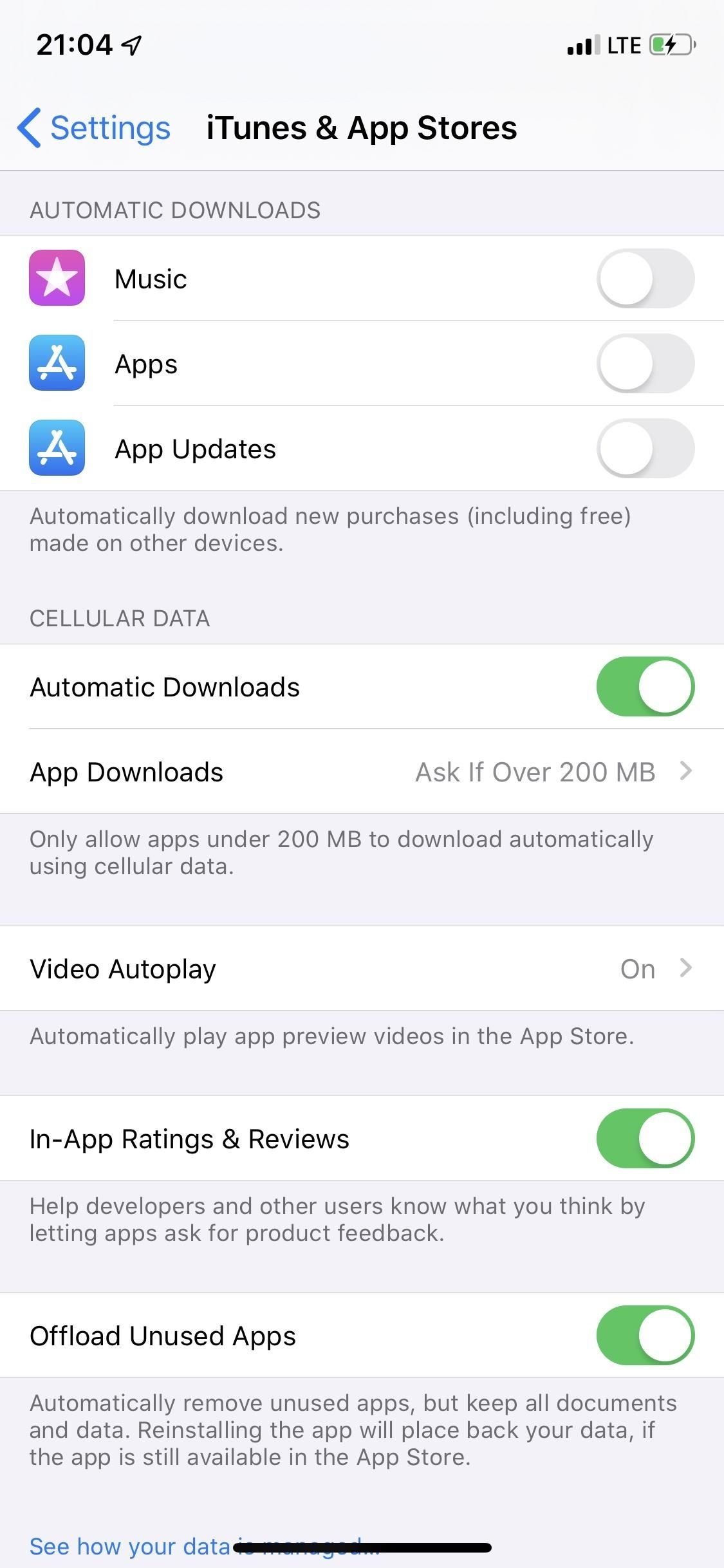 Download Apps of Any Size Using Cellular Data on Your iPhone in iOS