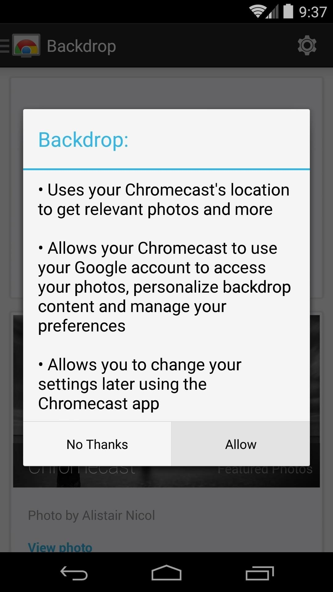 Personalize Your TV Experience with Chromecast's New Backdrop Feature
