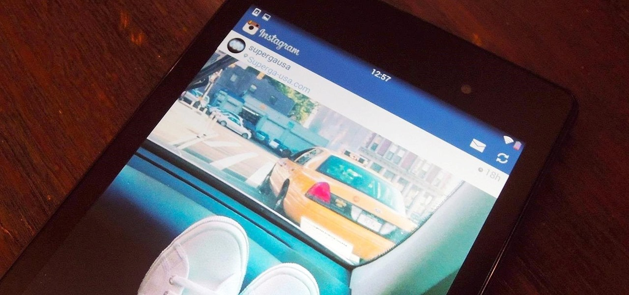 """Flatten"" the Instagram App on Your Nexus 7 Tablet for an iOS 7 Look & Feel"