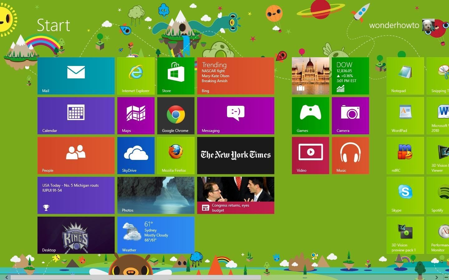 How to Add a Custom Background Image to Your Windows 8 Start Screen