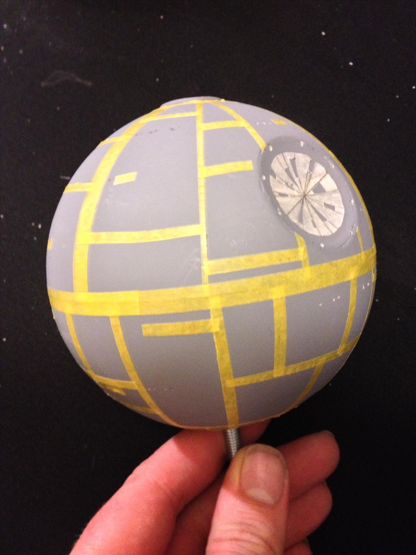 How to Hack a Cheap Floating Globe into a Levitating Imperial Death Star!