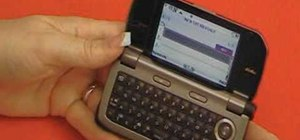 Text message on the Casio G'zOne Brigade