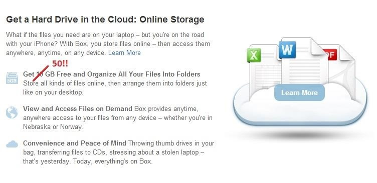 Get 50GB of FREE Storage on Your iOS Device with Box