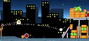 Beat level 7-11 of Angry Birds with three stars