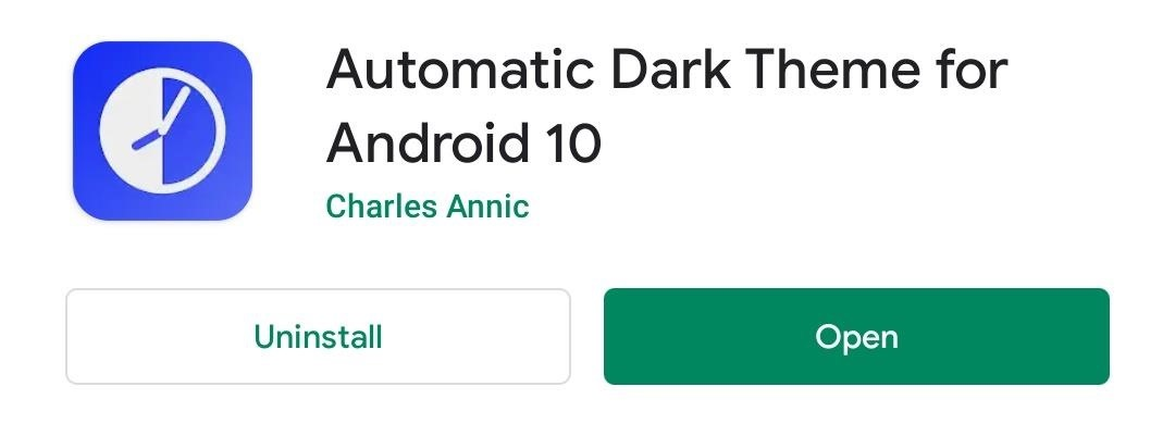 How to Make Android 10's Dark Mode Turn on Automatically at Night — No Root Needed