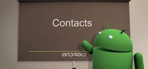 Manage your contacts on Android cell phones (2.0)