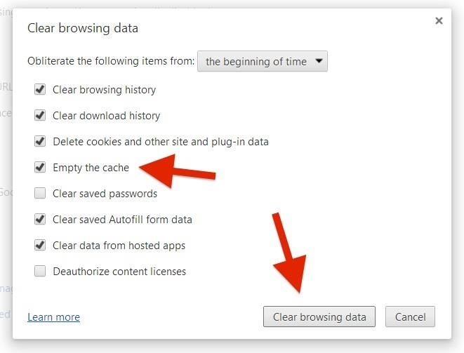 How to Clear Your Cache on Any Web Browser