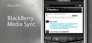 Transfer media files with the BlackBerry Media Sync app
