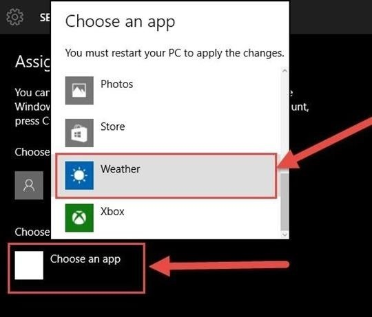 How to Restrict Guest Users to One App in Windows 10