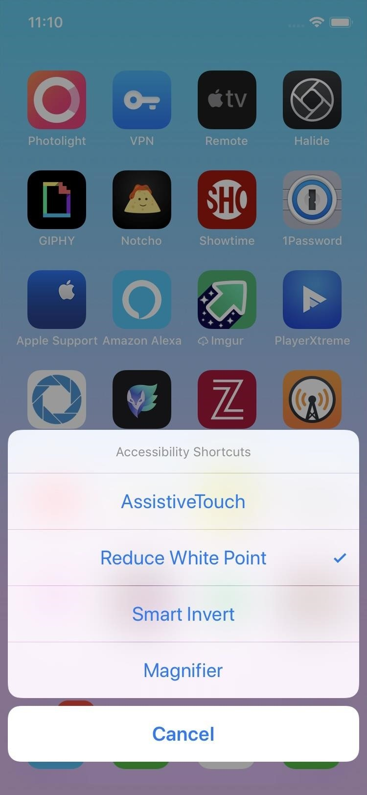 Lower Screen Brightness Below the Default Level on Your iPhone (Without Jailbreak)