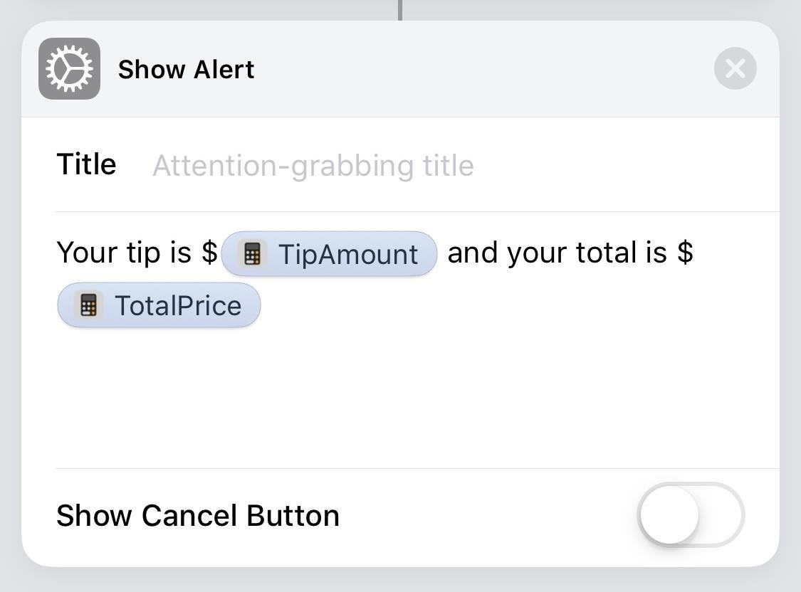Calculate Tips Faster on Your iPhone Using the Shortcuts App