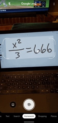 How to Solve Math Problems with Google Lens' Homework Mode