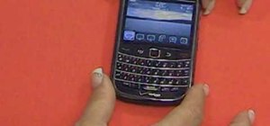 Get started using a BlackBerry Bold 9650 smartphone