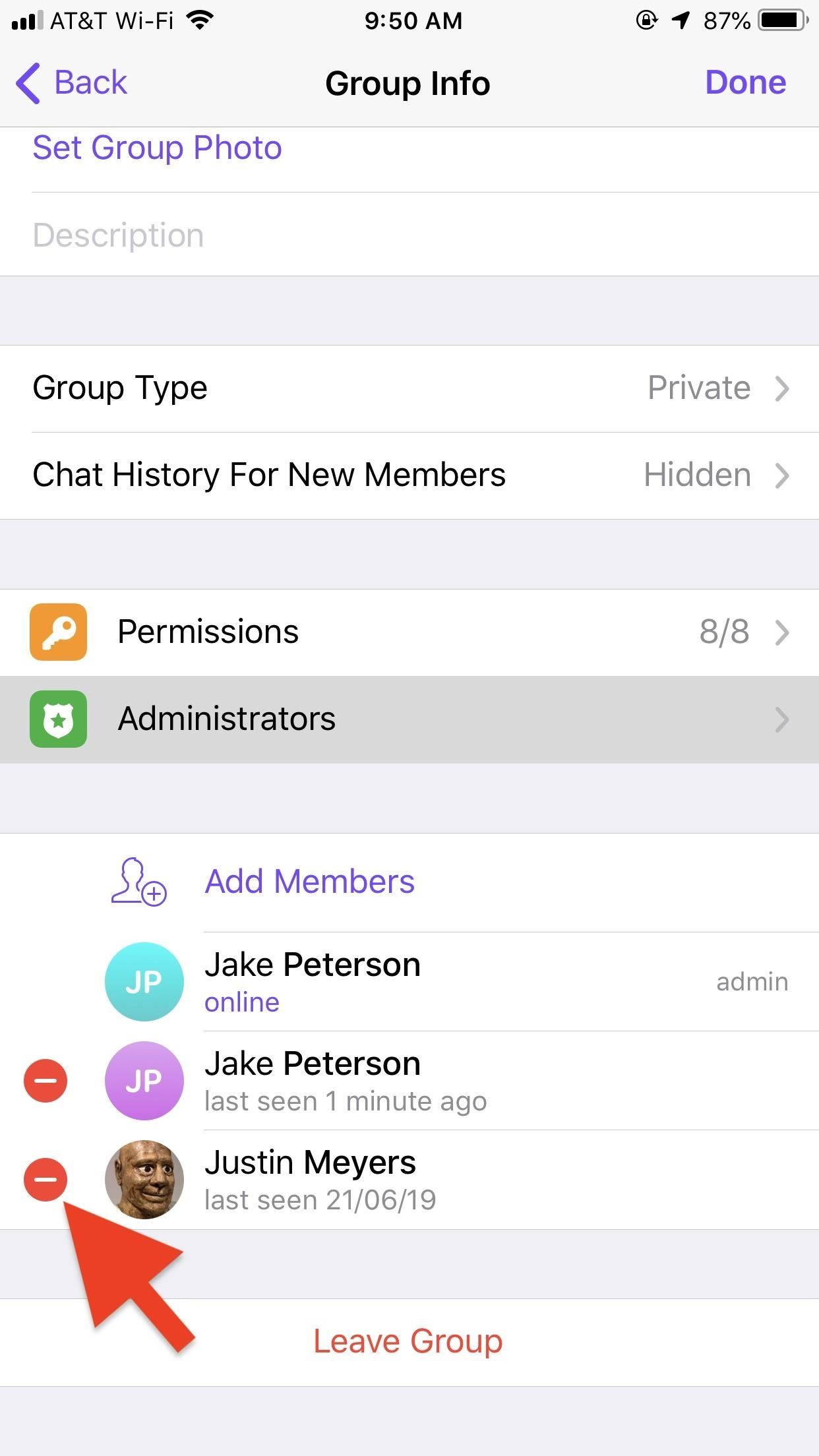 How to Change the Owner of a Telegram Group Chat to Pass the Torch to a Different Member