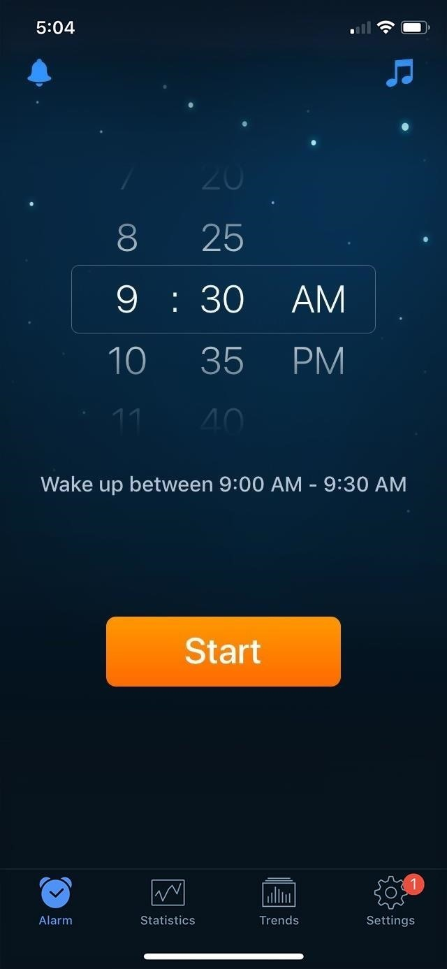 How to track sleep activity in Apple's health program for iPhone