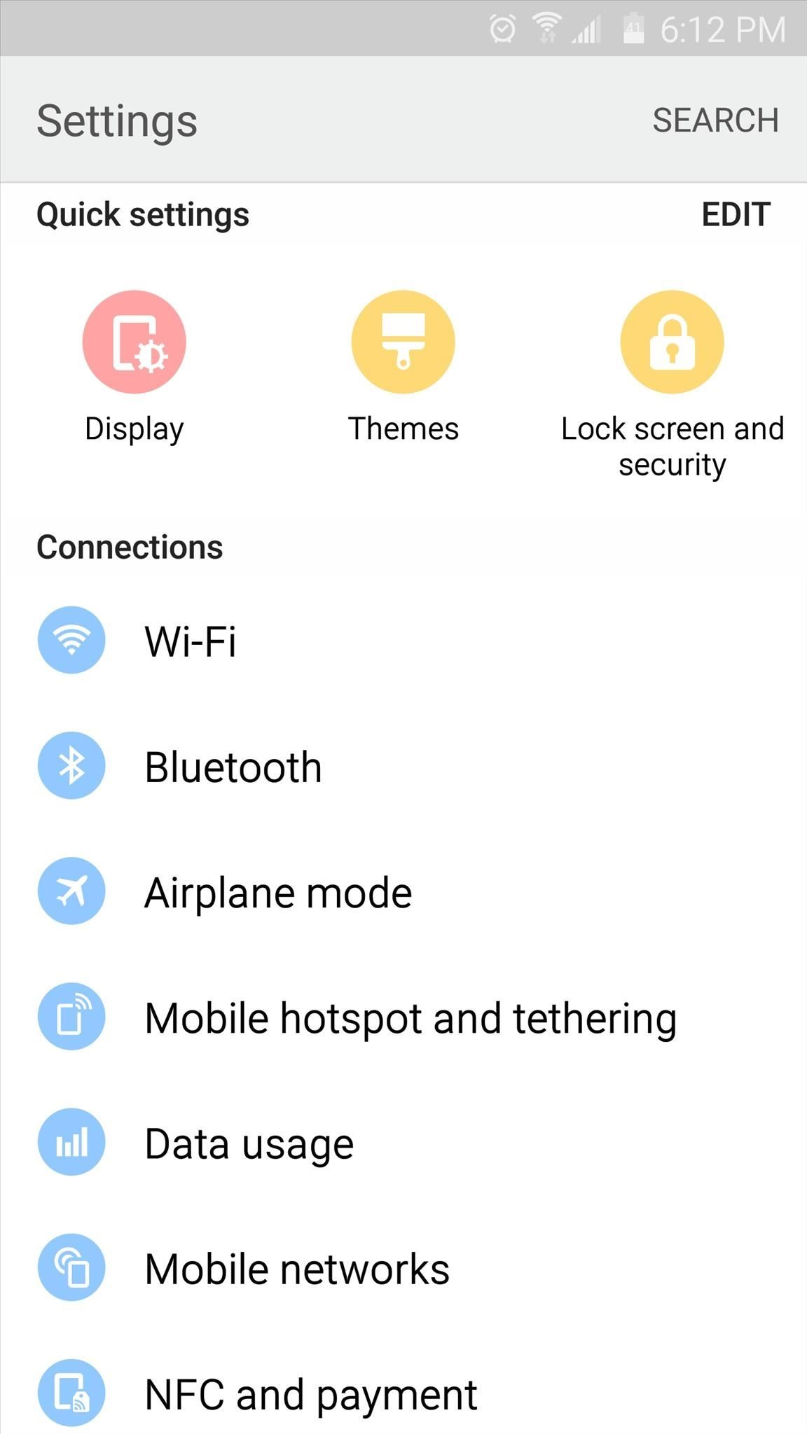 20 Official Samsung Galaxy Themes That Don't Totally Suck « Samsung