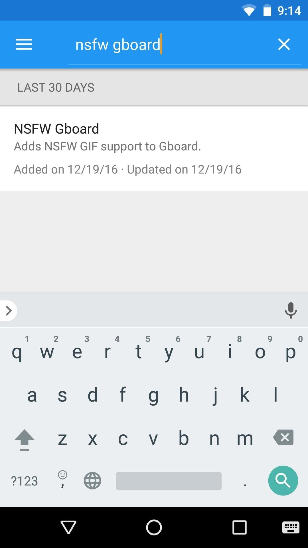 How to Unlock NSFW GIFs on the Gboard Keyboard for Android « Android