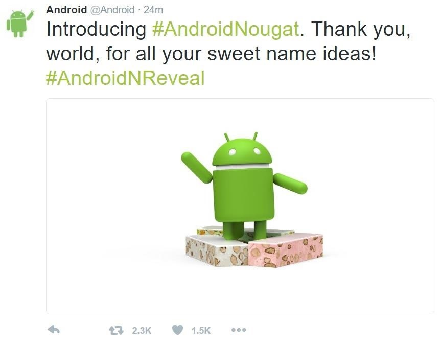 Android N Is Officially Named Nougat—Are You on Board?