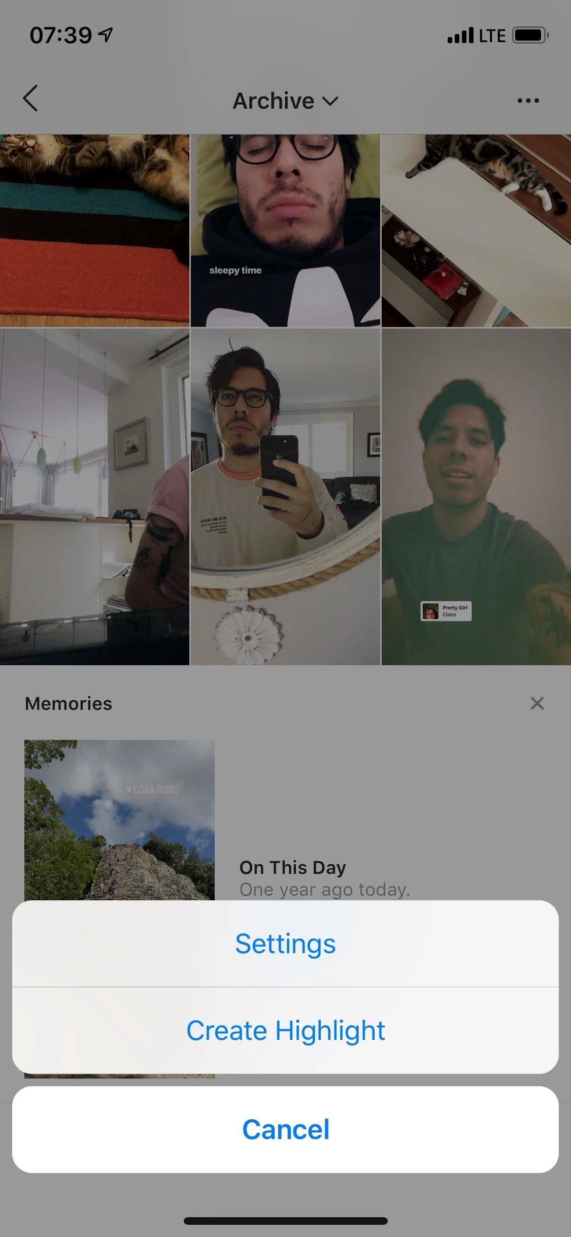 How to View, Share, Select and Retrieve Your Archived Instagram Stories