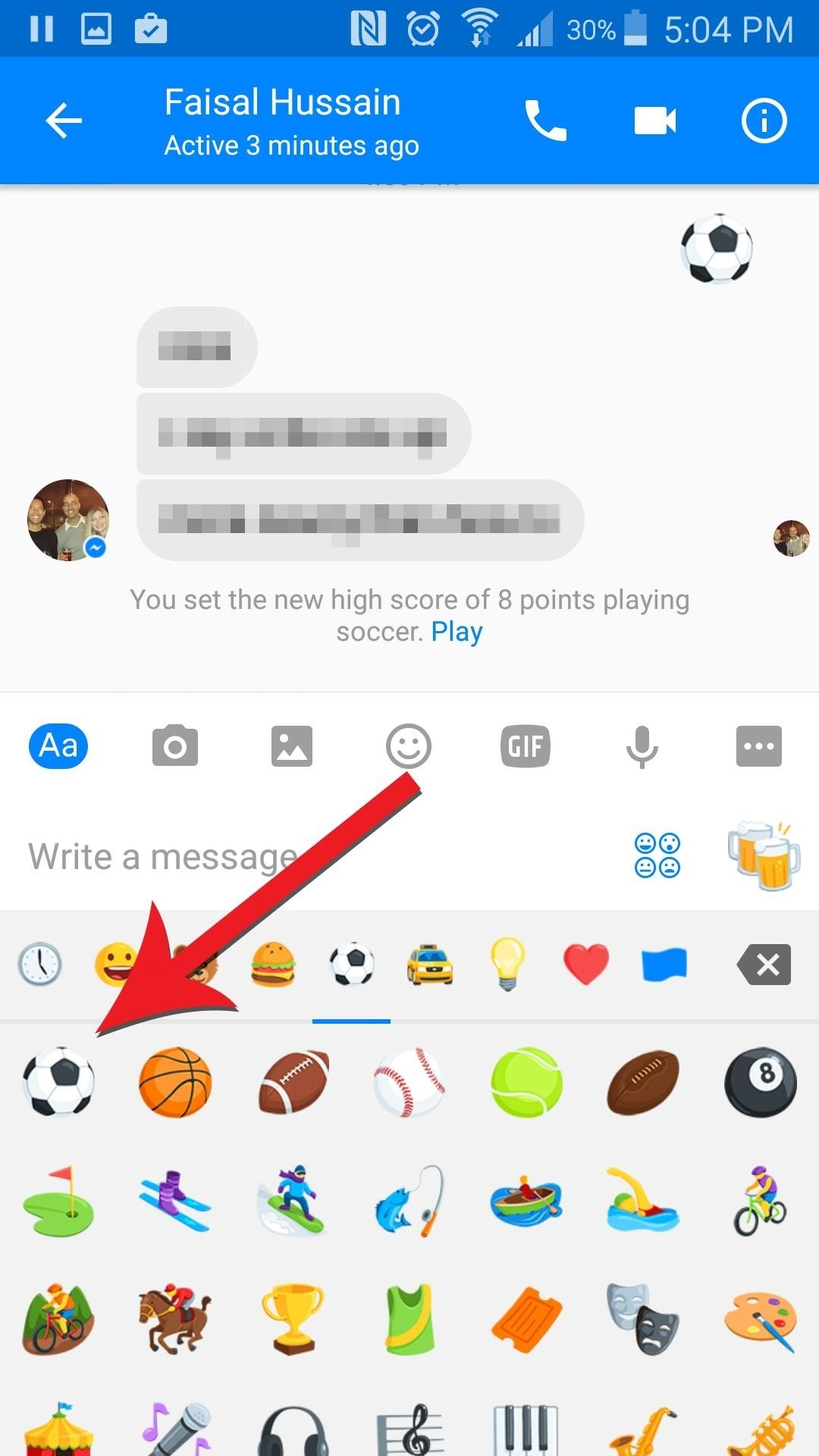 Facebook Messenger Just Released a Secret Soccer Game—Here's How to Play