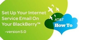 Set up your email account on your BlackBerry smartphone OS 5.0