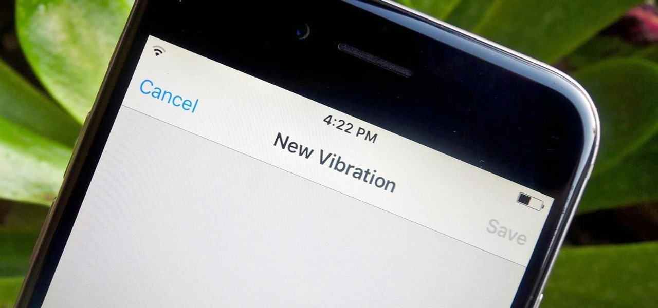 Set Custom Vibration Alerts for Individual iPhone Contacts