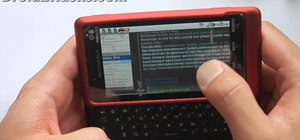 Install an NES emulator on a Verizon Droid 2 Google Android smartphone