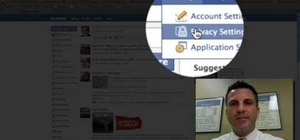 Block certain users from seeing your Facebook account