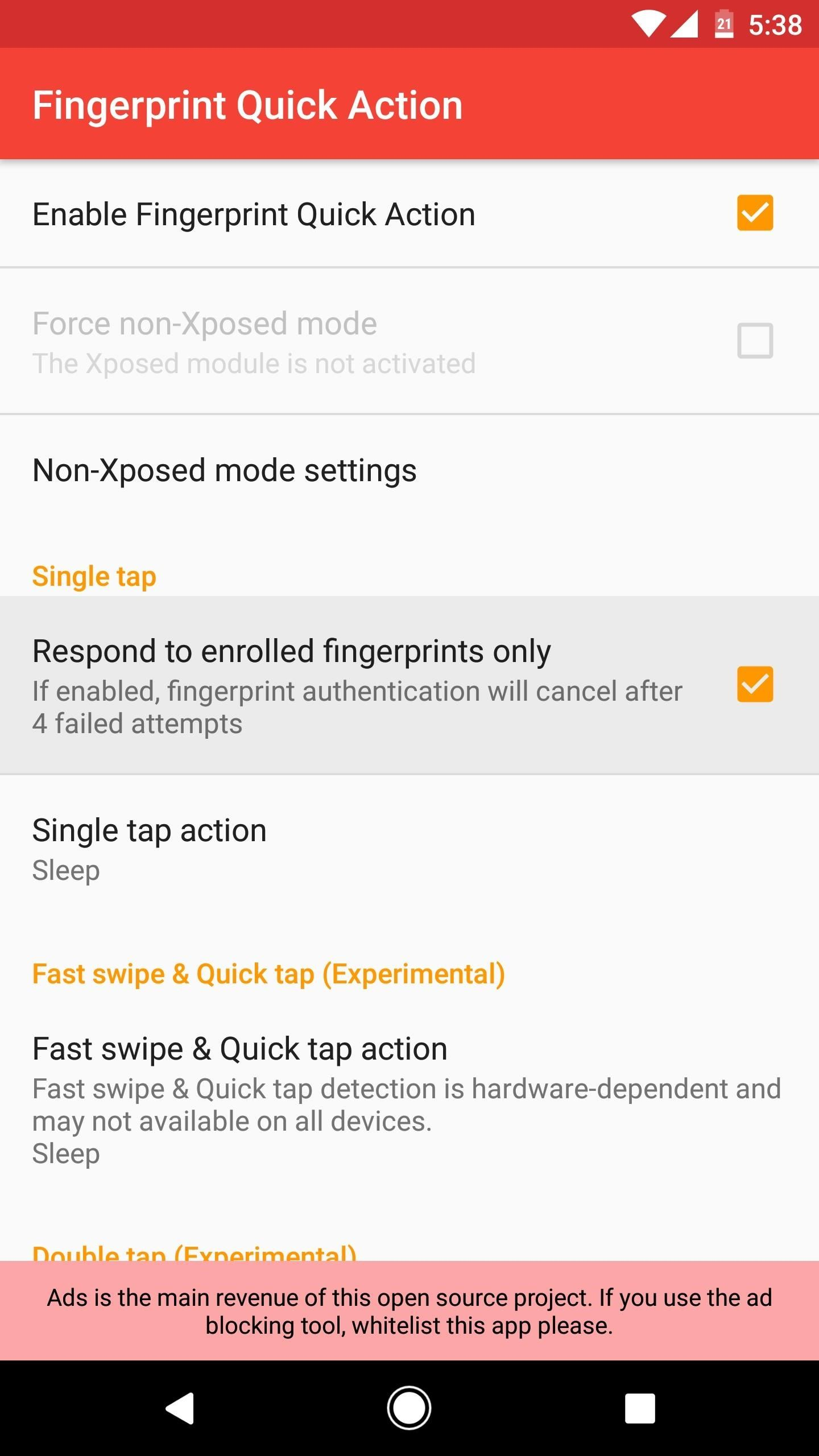 How to Turn Off Your Android's Screen with Your Fingerprint Scanner