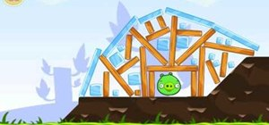 Beat Theme 1 levels 16-21 in Angry Birds with 3 stars
