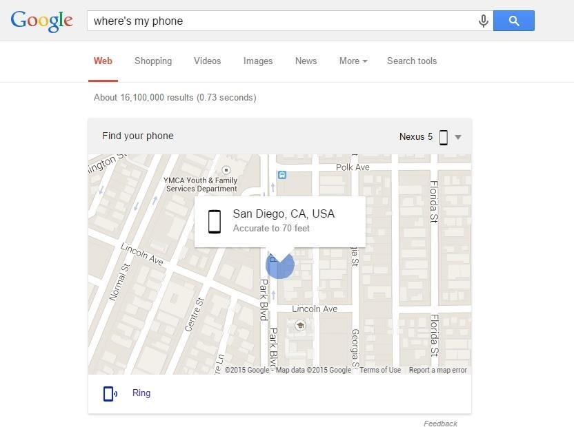 Use Google Search to Locate Your Android Phone or Tablet, Send Directions to It & More