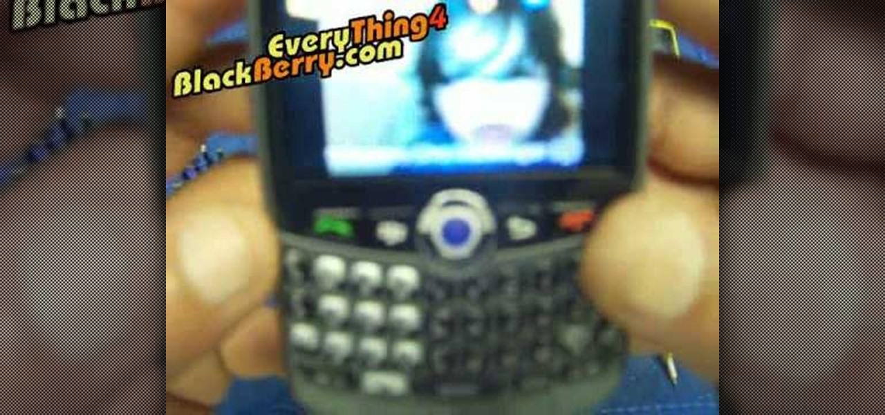 Changer roulette blackberry curve