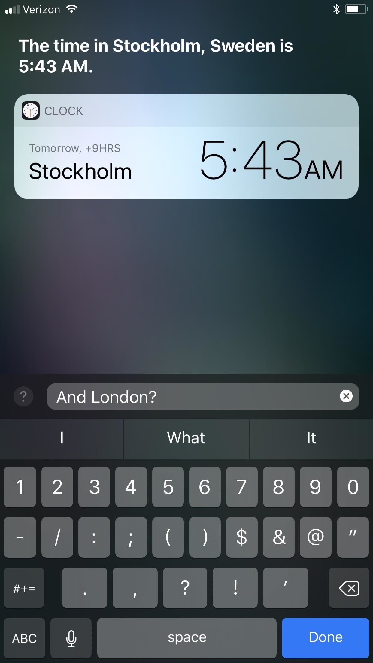 How to Type to Siri in iOS 11 When You Don't Want to Talk