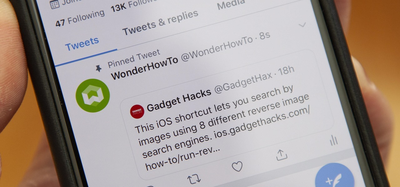 How To: There's a Workaround That Lets You Post Empty Tweets & Pin Retweets to Your Profile
