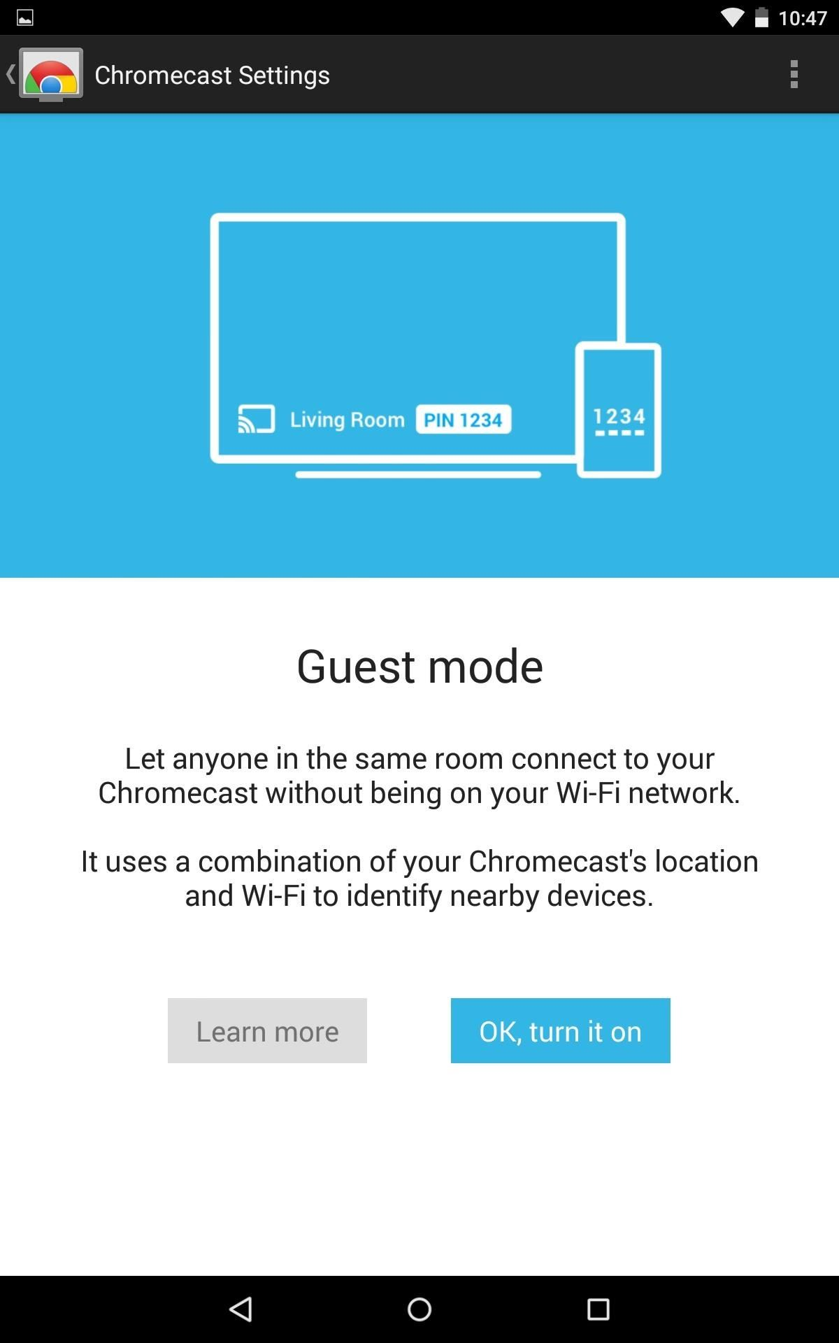 "Stop Handing Out Your Wi-Fi Password by Enabling ""Guest Mode"" on Your Chromecast"