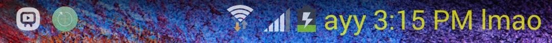 How to Add Custom Words & Phrases to Your Status Bar on the Samsung Galaxy Note 3