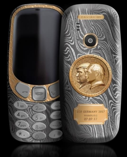 Someone's Selling a Putin-Trump Nokia 3310 & I'm Confused Too