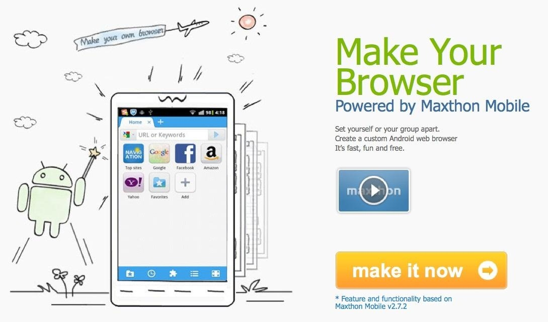 How to Create a Personalized Web Browser for Your Android Device