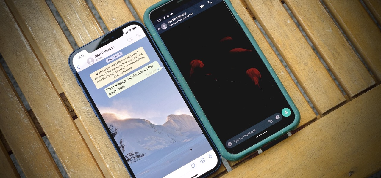 Pick Different Chat Wallpapers for WhatsApp's Light & Dark Modes for Even More Control Over Your Theme